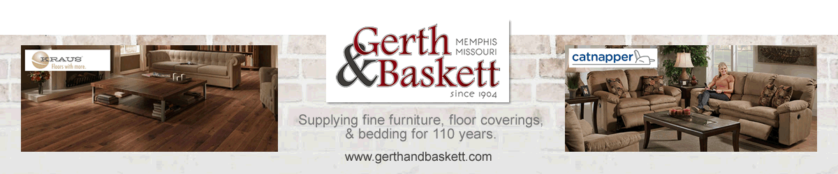 Your source for quality furniture, floor coverings and bedding in Memphis Missouri